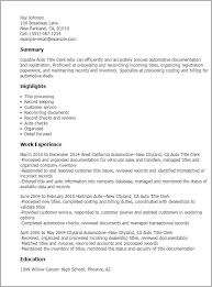 title resume examples examples of resume titles sample resume