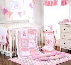 Pink Camo Crib Bedding Set by Bedding Sets 8pcs Baby Bedding Set Embroidered Bear Baseball