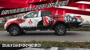 mitsubishi pickup 2016 mitsubishi l200 my 2016 test drive la via del pick up samurai