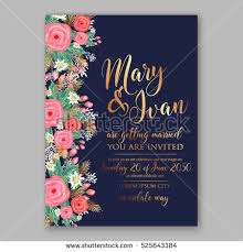 wedding invitation template stock images royalty free images