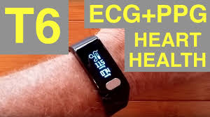 blood pressure bracelet review images T6 ecg ppg blood pressure fitness health smartband unboxing jpg