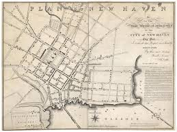 Lexington And Concord Map A Rare And Remarkable New Haven Map With Yale Prominently