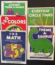 preschool curriculum books ebay