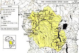 Congo River Map Madagascar