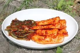 cara membuat pancake kimchi ponytail radish kimchi chonggak kimchi crazy korean cooking