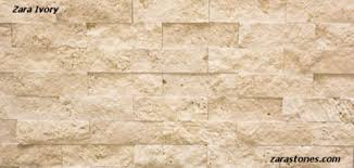 Split Face Stone Backsplash by Zara Noce Split Face Travertine Veneer Is An Innovative Approach