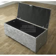 renata cube fabric upholstered ottoman storage box and stool