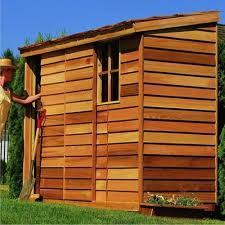 com cedar shed 8 x 3 ft yardsaver storage shed garden outdoor