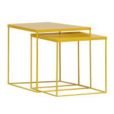 beistelltische toptip beistelltisch metall gelb daredevz com