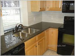 dark brown varnished wooden kitchen cabinet kitchen countertop