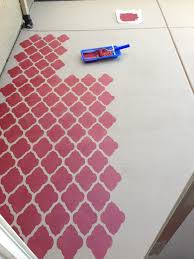 images about concrete floors on pinterest painted painting and