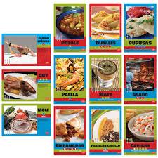 bulletin board sets teacher s discovery spanish regional foods bulletin board sets