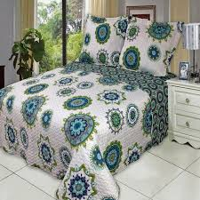 Blue Quilted Coverlet Buy Quilts And Coverlets Bedding Sets Luxury Linens 4 Less
