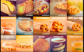 taco bell breakfast menu review fast food breakfast taco bell