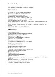 Resume For A Marketing Job by A Marketing Project Report On Nestle Vs Cadbury