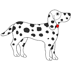 coloring pages spot colored page dalmatian painted by grady spot