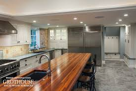 kitchen island without top custom tigerwood kitchen island top in west chester pa