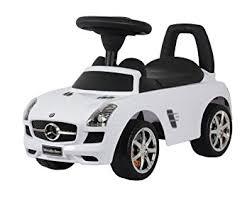 mercedes black car amazon com best ride on cars mercedes sls amg push car