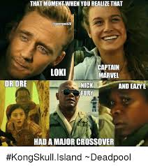 Dr Dre Meme - that moment when you realize that asupergeek18 captain loki marvel