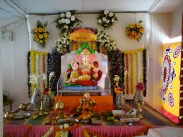 decoration at home 2017 grasscloth wallpaper ganesh chaturthi decoration fashions for all 2