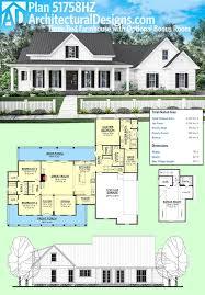 single story five bedroom house plans with modern 5 designsl plan plan 51758hz three bed farmhouse with optional bonus room bonus