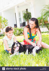 usa florida jupiter 6 7 with mom and dog in backyard