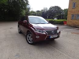 lpg lexus rx for sale uk lexus rx 450h 450h luxury ontinuously variable electric hybrid 0