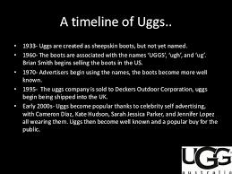 ugg sales statistics uggs presentation