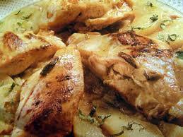 cuisiner blancs de poulet recette de blancs de poulet enlacés avec une sauce moutardée