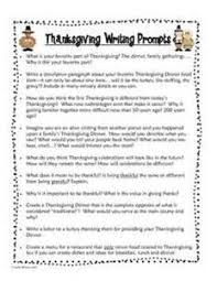 thanksgiving essay writing prompts 100 original