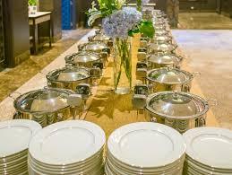 many buffet trays ready for service stock photo image 43702521