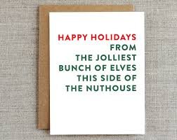 funny christmas card funny holiday card festive christmas