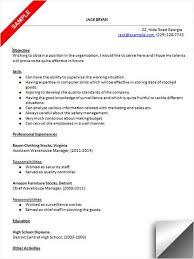 Warehouse Material Handler Resume Cashier Job Description Resume Dear Company Cover Letter Custom