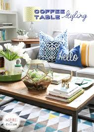 Style A Coffee Table Coffee Table Styling Coffee Kara And Spaces