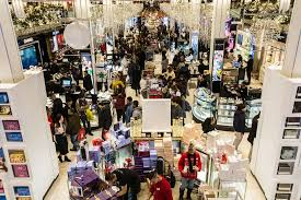 black friday kicks with upbeat shoppers and fewer discounts wsj