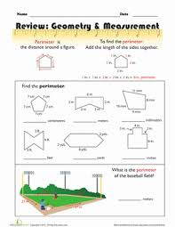 finding the perimeter worksheet education com