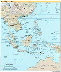 Asia Physical Map Detailed Political Map Of Southeast Asia Southeast Asia Detailed