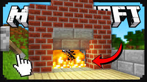 minecraft how to build a secret fireplace entrance minecraft