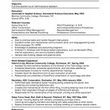 administrative assistant cover letter sample aerc co