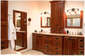 custom design build bath vanity craftsman style westchester ny 78
