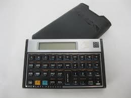 hp 16c scientific calculator w case new battery what u0027s it worth