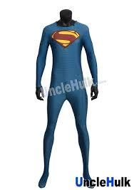 superman zentai costume 4 inclued cloak unclehulk com studio