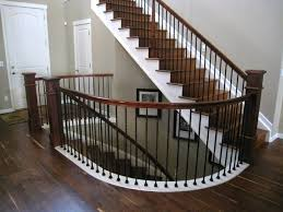 walnut hardwood floor u0026 staircase traditional staircase denver