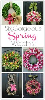 six gorgeous wreaths to dress up your front door driven