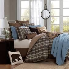 Plaid Bed Set Woolrich Hadley Plaid Comforter Set Jcpenney