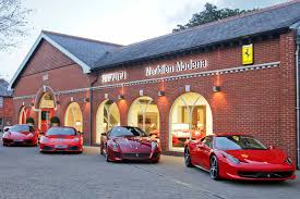 ferrari factory uk ferrari dealer wins u0027best showroom in the world u0027 prize