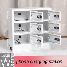 Charging Shelf Sopower Phone Charging Station 6 Docks Automatic Mobile Phone