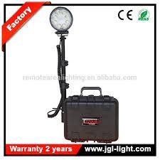 battery powered portable led work lights 12v battery powered search work light remote outdoor led mining