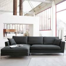 small grey sectional sofa elegant sectionals dark gray mcnary elegant sectionals in gray color