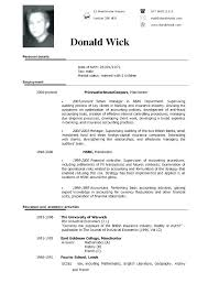 Usa Resume Template by American Format Resume Resume Template Sle Resume American